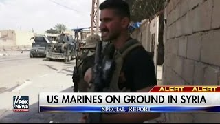 US Marines deploy to Raqqa Syria to Fight ISIS