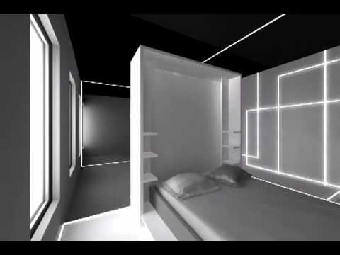 appartement modulable pauline ferrand youtube. Black Bedroom Furniture Sets. Home Design Ideas