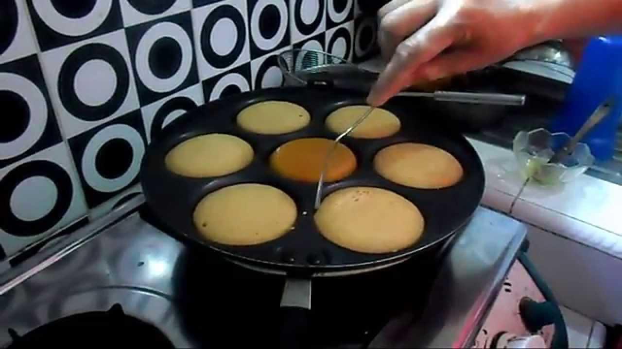 Resep Cara Membuat Apem Gula Merah Youtube
