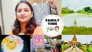Indian Mom Family Time || Visiting Temple || d