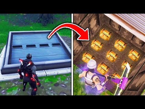 Top 10 HIDDEN FORTNITE CHESTS You May Not Have Known! (Fortnite Secrets Tips & Tricks)