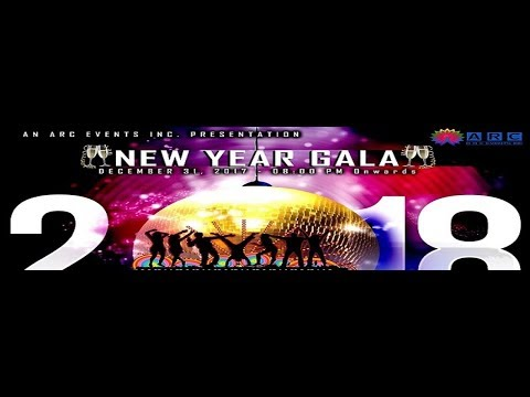 New Year Eve's Gala 2017-2018 at Versailles Convention Centre
