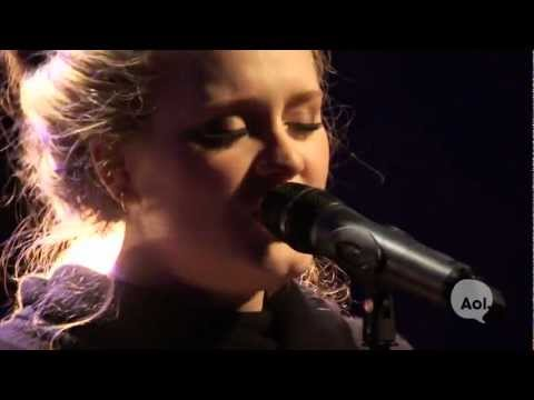 Adele, 'Rolling in the Deep' (AOL Sessions)