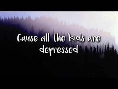 Jeremy Zucker - all the kids are depressed (lyrics)