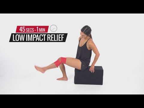 Вопрос: Как перевязать колено?