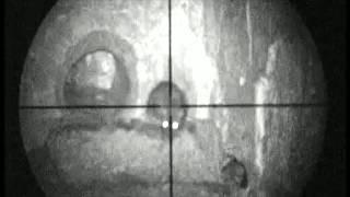 Pig Farm Rat hunting 7 using an Air Arms S410k air rifle and a Nitesite NS200
