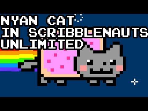 Scribblenauts Unlimited Easter Egg - Nyancat! | Nyan Cat