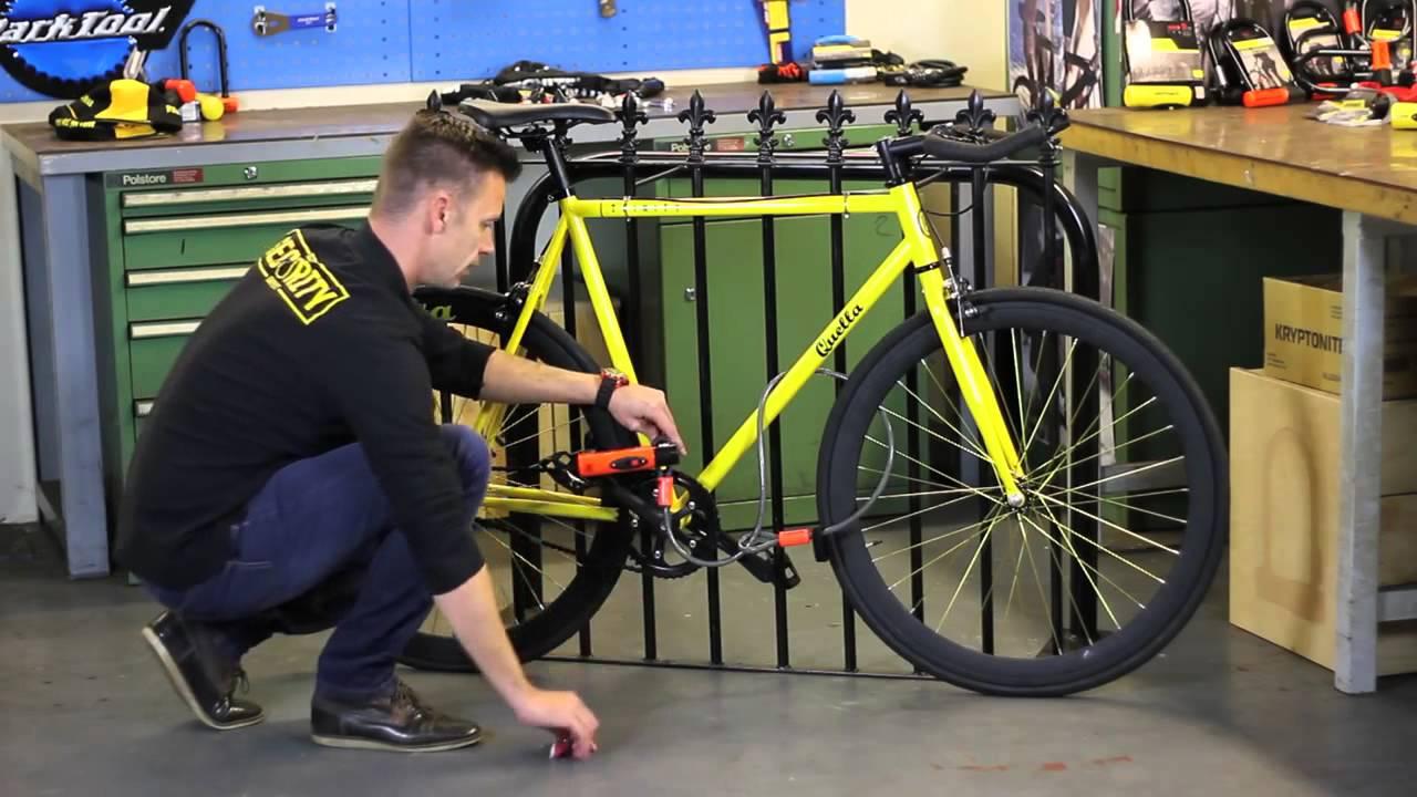 timeless design new products buy sale Comment bien attacher son vélo avec un antivol U