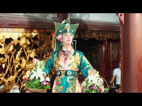 Hầu Đồng, Hát Văn Hay Đồng Thầy Trần Vũ Tiến, Hầu Giá Chầu Đệ Nhị