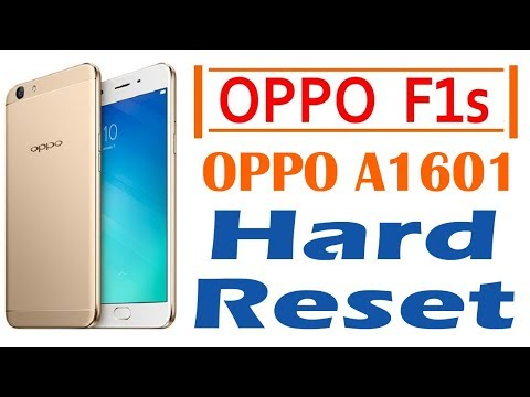 OPPO F1s Hard Reset (A1601) Method | Oppo F1s Factory Reset Method | Android Solution