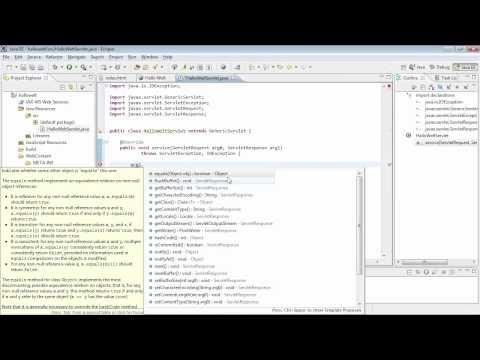 Ein »Hallo Welt«-Servlet schreiben - Java 7