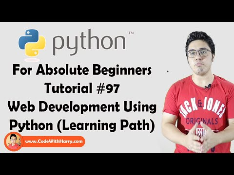 Learning Path For Python Web Development | Python Tutorials For Absolute Beginners In Hindi #97