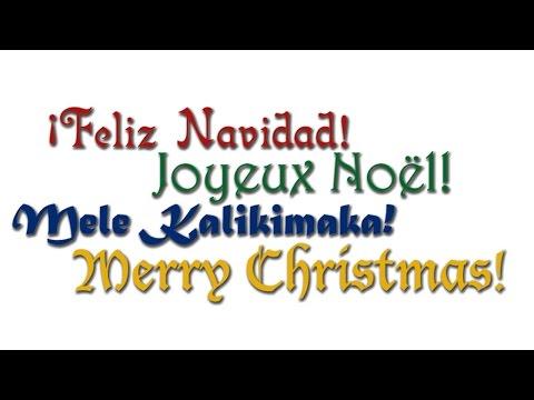 Christmas In Any Language - MusicK8.com Singles Reproducible Kit