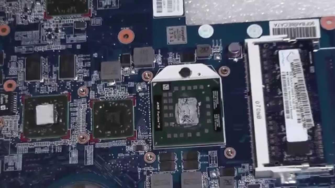 Ремонт ноутбука Hp G62-a84er от нашего подписчика. Замена .