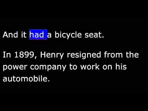 Biography - FH - Henry Ford - Part 1 Of 2 - Automotive Pioneer