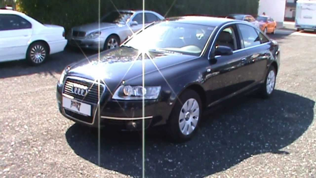 2007 Audi A6 20 Tdi Multitronic Full Reviewstart Up Engine And