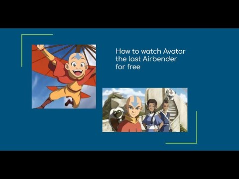 How To Watch Avatar The Last Airbender For Free (part 2)