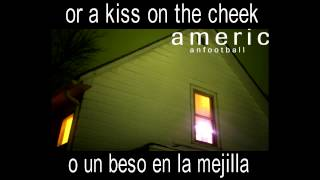American Football - The Summer Ends (Lyrics/Subtitulada)