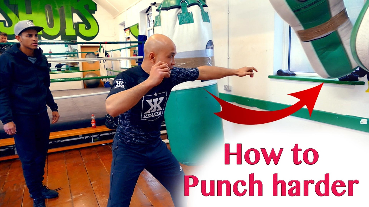 Learning to punch correctly