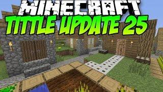 Minecraft PS4 TU25 - New Blocks, Setting Options & More!