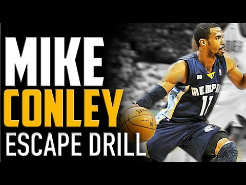 Mike Conley Jr. Escape Drill: Basketball Dribbling Drills