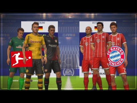 KANN DER REST DER BUNDESLIGA DEN FC BAYERN SCHLAGEN!?? 🏆💥🤔 - FIFA 18 Experiment #13