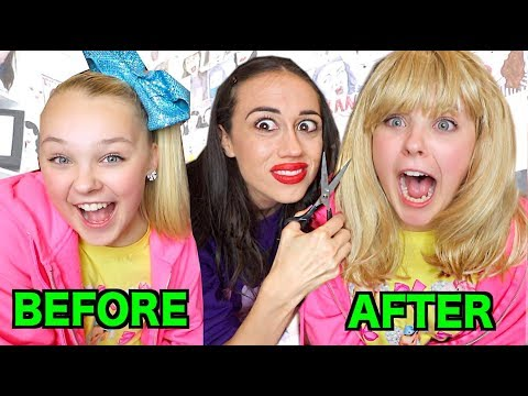 CUTTING JOJO SIWA'S HAIR!!!