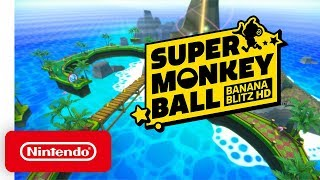 Super Monkey Ball - Launch Trailer - Nintendo Switch