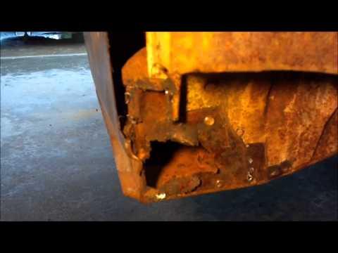 vw bug left quarter rust repair