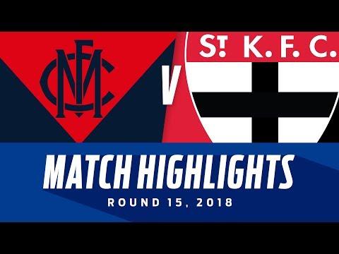 Melbourne v St Kilda Highlights | Round 15, 2018 | AFL