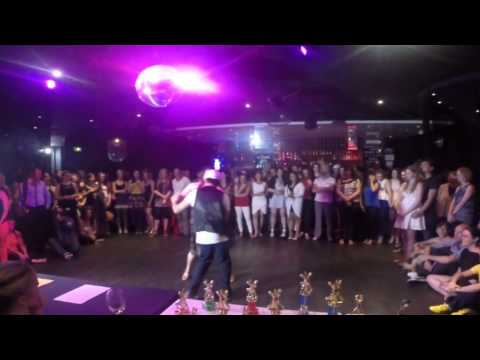 Adelaide's Best Social Dancer Competition Series 2014 - Finals - Bachata - Dennis and Stephanie