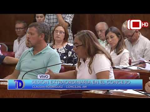 Móvil en vivo: Sesión extraordinaria en el Concejo Deliebrante