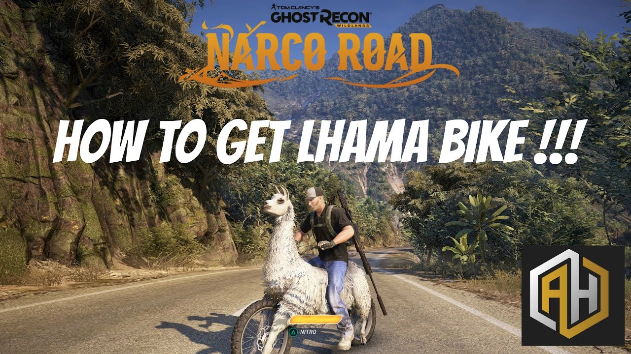 How To Get Lhama Bike Ghost Recon Wildlands Narco Road Youtube