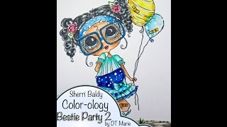 Sherri Baldy Color-ology Coloring Hair Tutorial by DT Marie