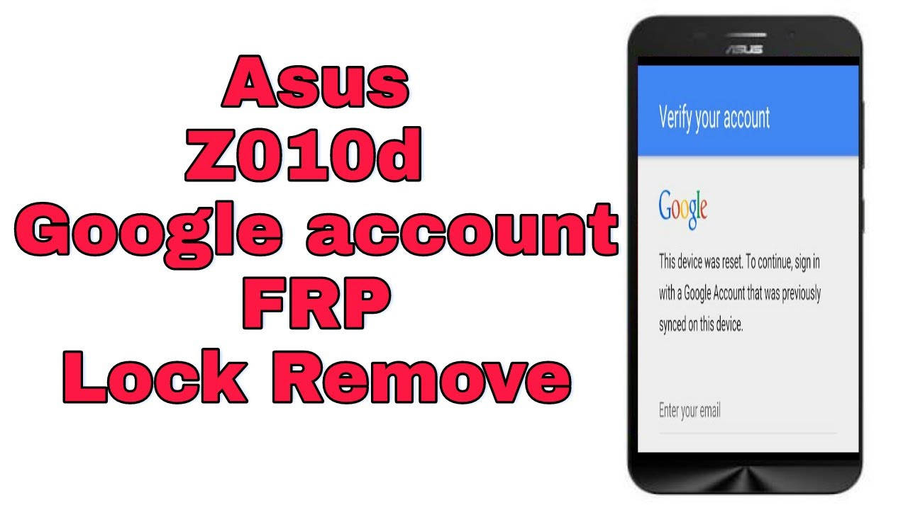 remove gmail account from android asus