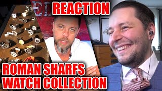 Roman Sharfs Watch Collection Review 😮