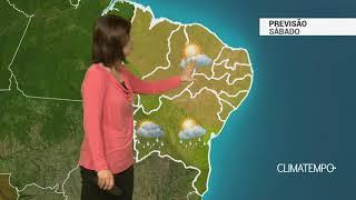 Previsão Nordeste – Frente fria chega ao litoral da Bahia