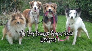 The Dog Trained People Show - Webisode 1 - The Dog Connection Tv Network