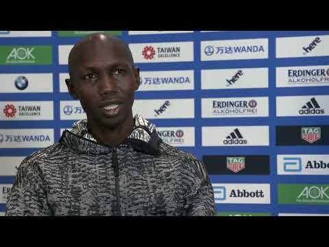 VIDEO RELEASE: BMW BERLIN-MARATHON ON SUNDAY:  Video interviews with Wilson Kipsang
