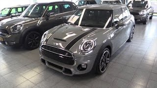 Mini Cooper S John Cooper Works 2016 Start Up Drive In Depth Review Interior Exterior
