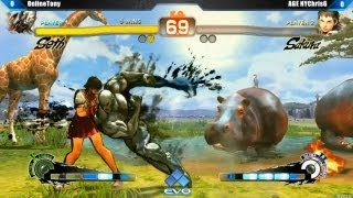 EVO 2K13: SSF4 AE Online Tony (Seth) vs Chris G (Sakura) [HD]