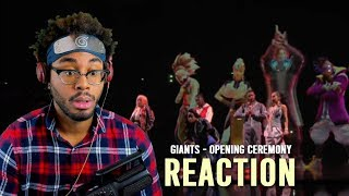 GIANTS - Opening Ceremony 2019 World Championship Finals Reaction
