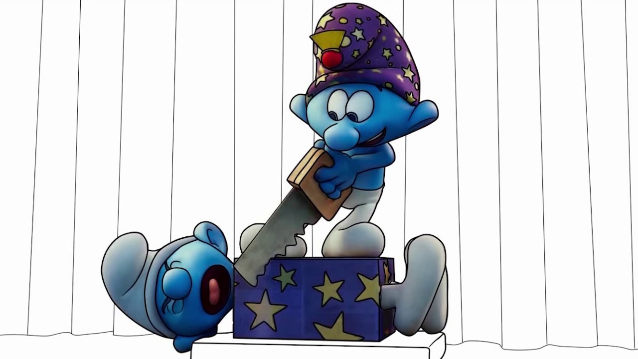 smurfs 2017 magician smurf coloring pages smurf the lost