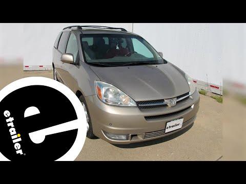Best 2006 Toyota Sienna Trailer Wiring Options - etrailer.com