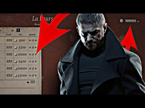 NEWS GLITCH ARGENT INFINI 1.2 PS4/PC PS5/XBOX RESIDENT EVIL 8 VILLAGE