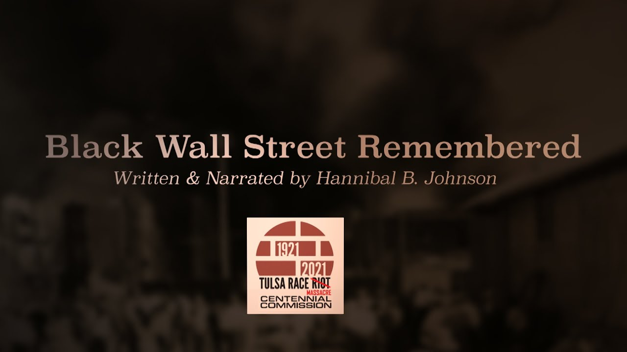 Black Wall Street Remembered