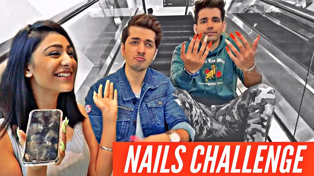 NAILS Challenge | Rimorav Vlogs - YouTube