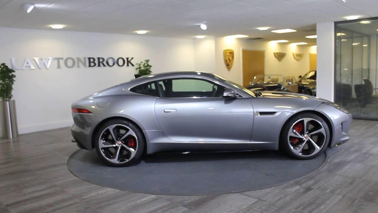 Jaguar F Type R Silver With Black Lawton Brook Youtube