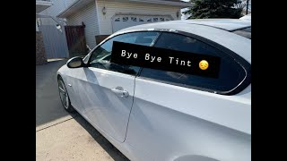 How To Remove Wiฑdow Tint (The Cheap Way)