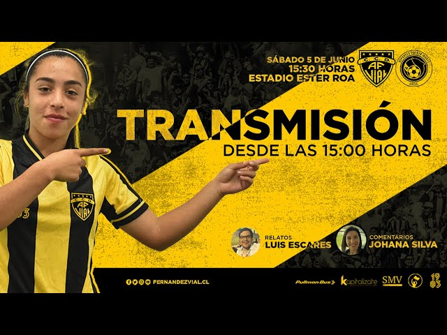 Fernández Vial vs Puerto Montt | 1ra División Fútbol Femenino